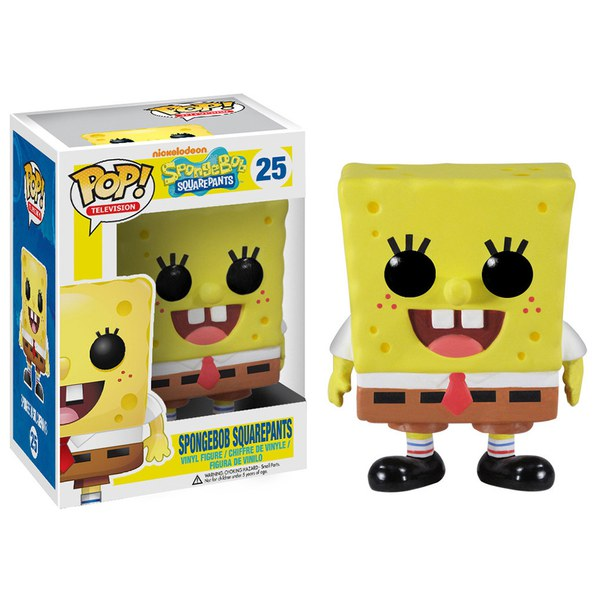 SpongeBob SquarePants Glow in the Dark Exclusive Pop! Vinyl Figure