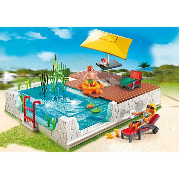 Playmobil swimming pool with terrace 5575 toys - Playmobil swimming pool best price ...