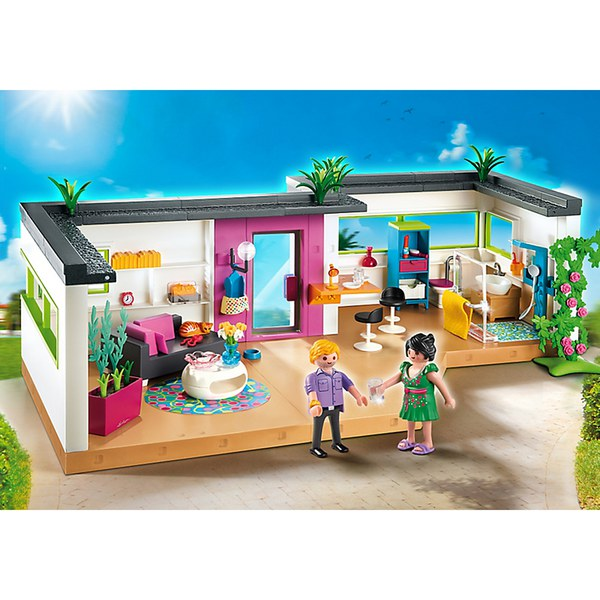 Playmobil guest suite 5586 iwoot for Maison moderne playmobil
