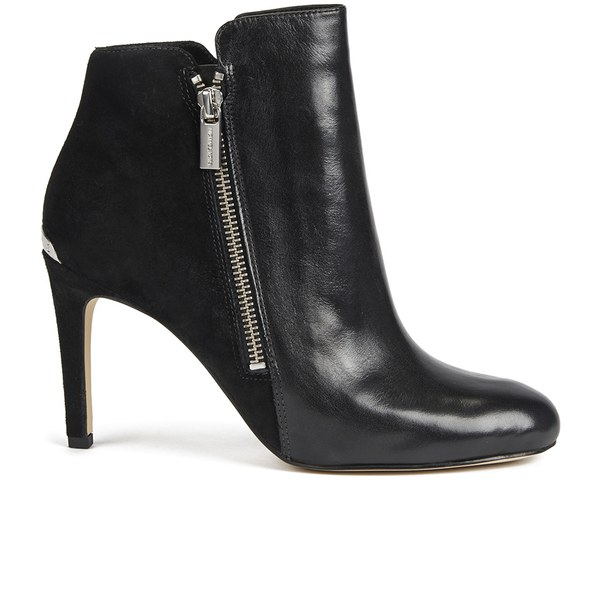 MICHAEL MICHAEL KORS Women's Clara Leather Heeled Ankle Boots ...