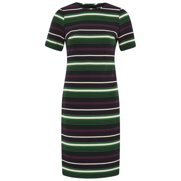 MICHAEL MICHAEL KORS Women's Mauborg Stripe Dress - Palmetto Green