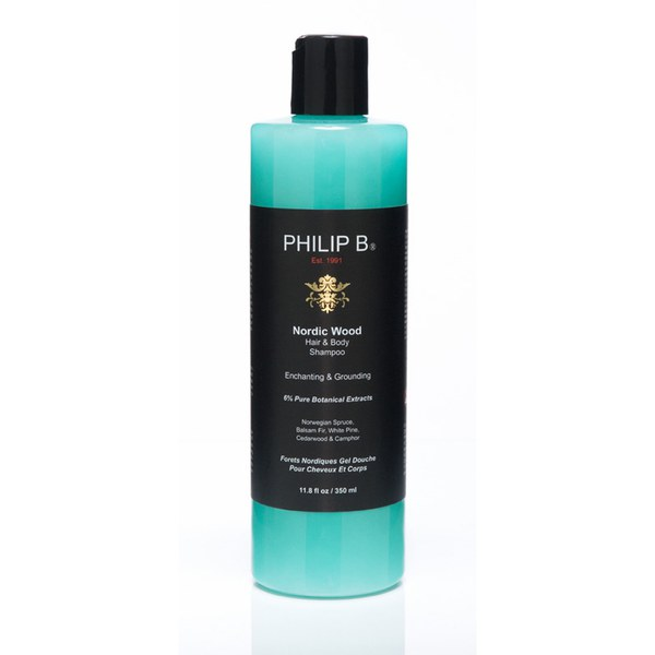 Philip B Nordic Wood Hair and Body Shampoo (350ml)