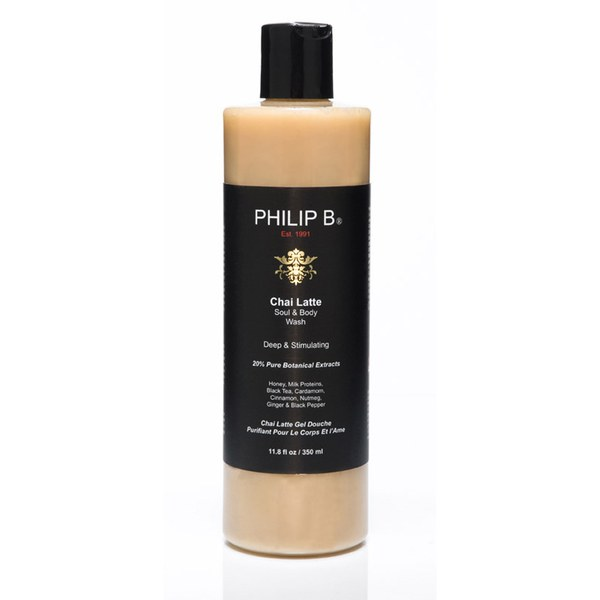 Philip B Chai Latte Seele und Body Wash (350ml)