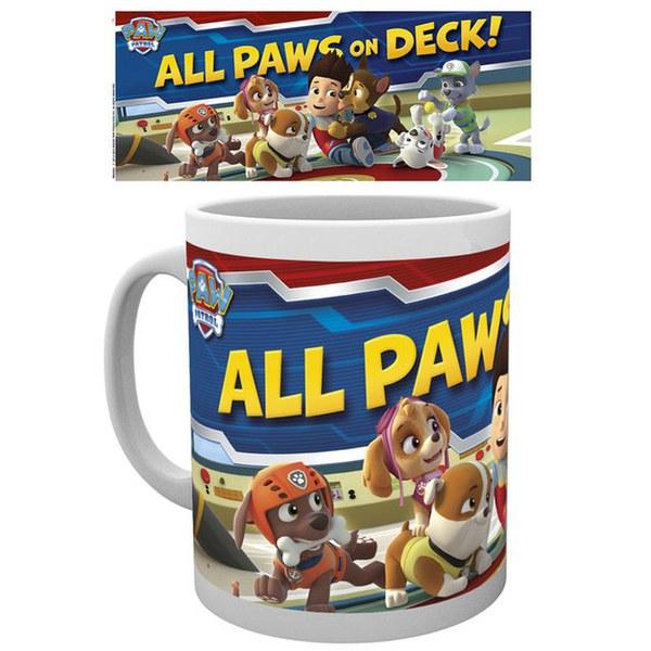 Paw Patrol Paws On Deck - Mug