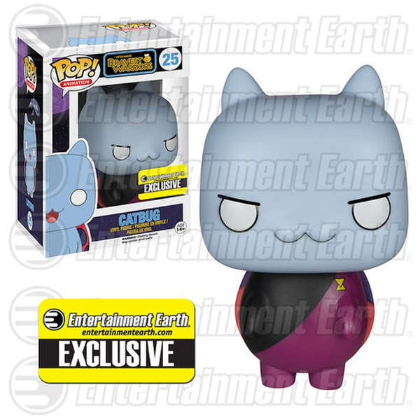 Bravest Warriors Commander Catbug Entertainment Earth Exclusive Pop! Vinyl Figure