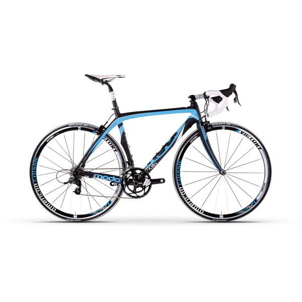 Moda Molto Carbon Road Bike Sram Rival Sky Blue Smoke