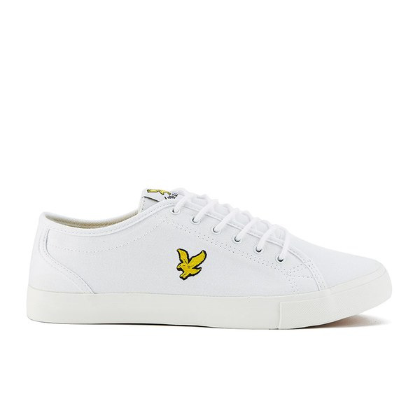 0f8edeb28b20 Lyle   Scott Men s Teviot Twill Trainers - White
