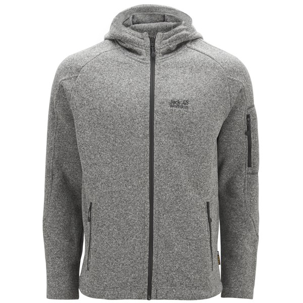 Jack Wolfskin Men S Caribou Lodge Fleece Jacket Light