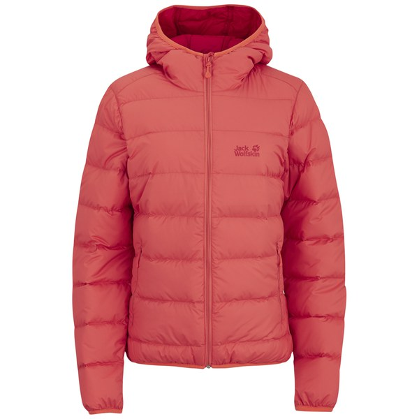 Jack Wolfskin Women's Helium Down Filled Jacket - Hot Coral Womens ...