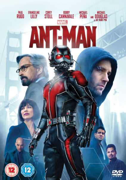 Ant Man Dvd Cover: Ant-Man DVD