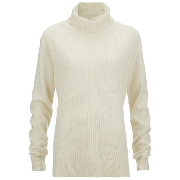 Ganni Womens Mercer Knit Jumper - Vanilla Ice