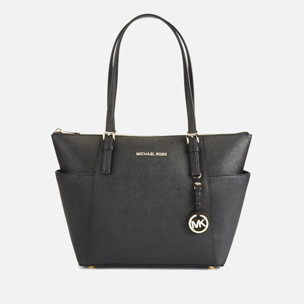 MICHAEL MICHAEL KORS Women's Jet Set East West Top Zip Tote Bag - Black
