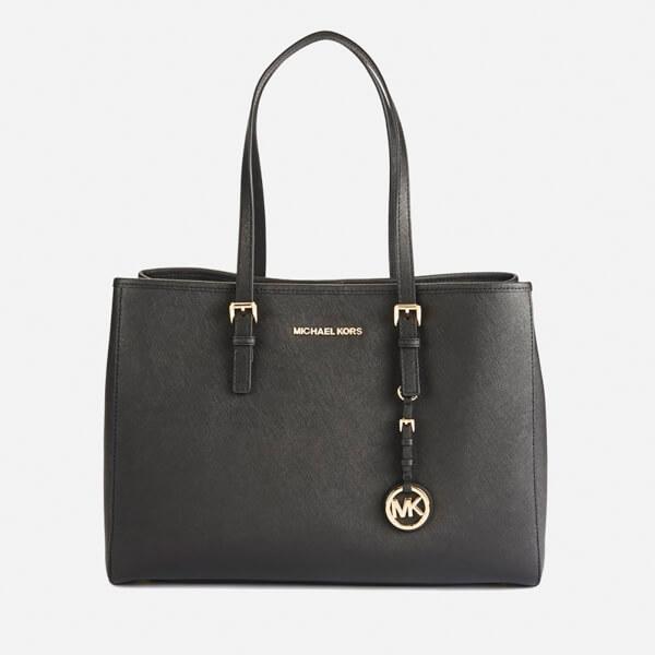 Michael Kors Women S Jet Set Tote Bag Black