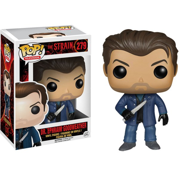 The Strain Dr. Ephraim Goodweather Pop! Vinyl  Figure