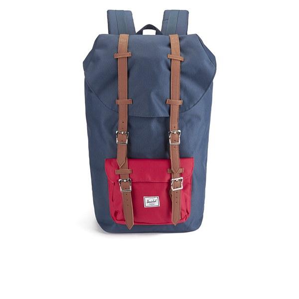 Herschel Supply Co Little America Backpack Navy Red dea0b7e98c8b3