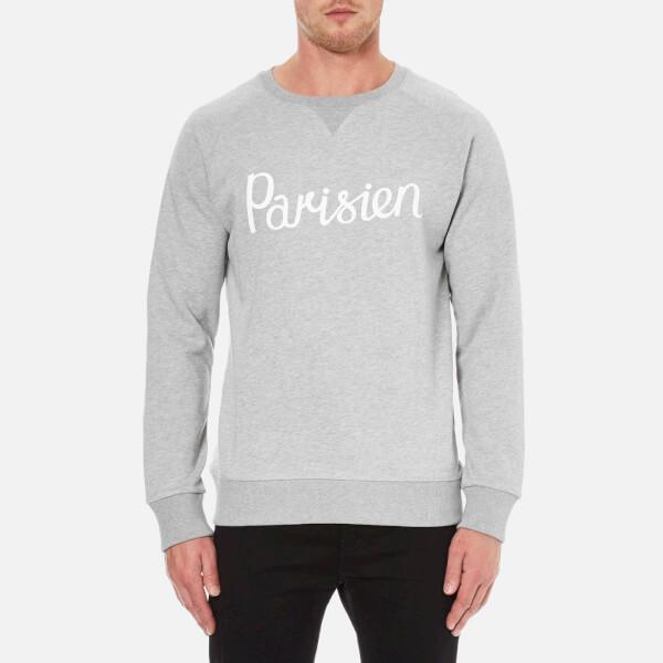 Maison Kitsuné Men's Parisien Sweatshirt - Grey Melange
