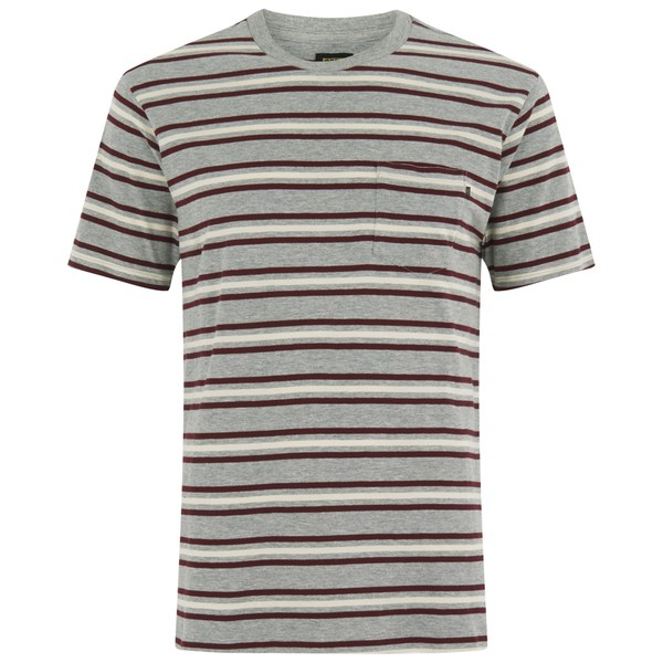 OBEY Clothing Men's Embarco T-Shirt - Burgundy Multi