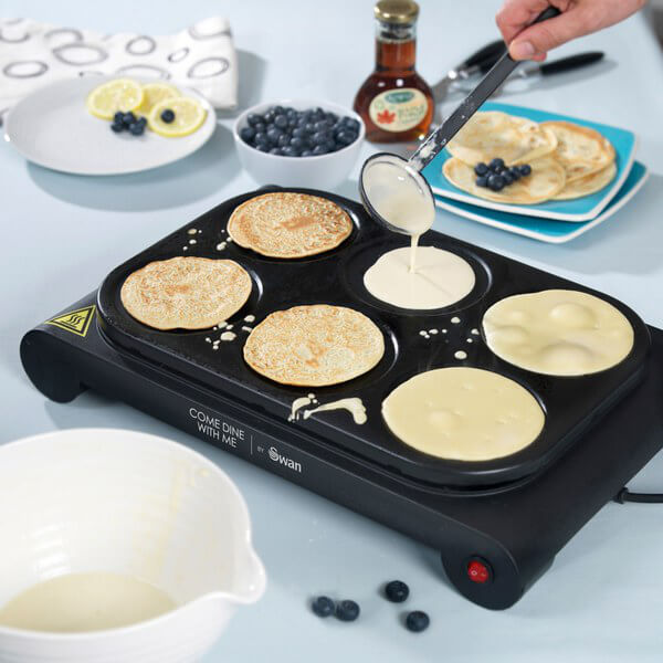 Swan Sf23010cdwmn Pancake Maker And Party Wok Iwoot