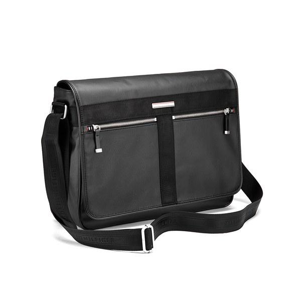 a4234c045dd Tommy Hilfiger Men's Darren Messenger Bag - Black | Buy Online | Mankind