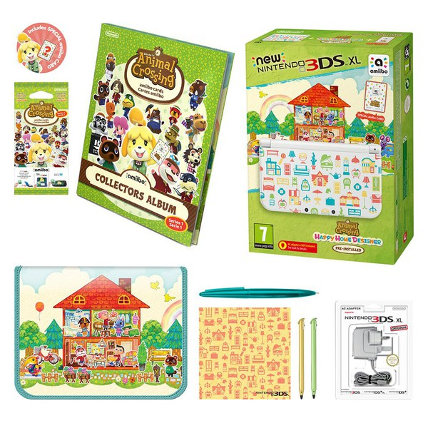 new nintendo 3ds xl animal crossing happy home designer edition pack image 1 - Home Designer