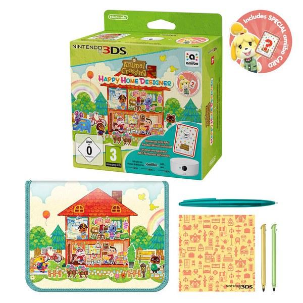 Animal Crossing: Happy Home Designer + NFC Reader/Writer
