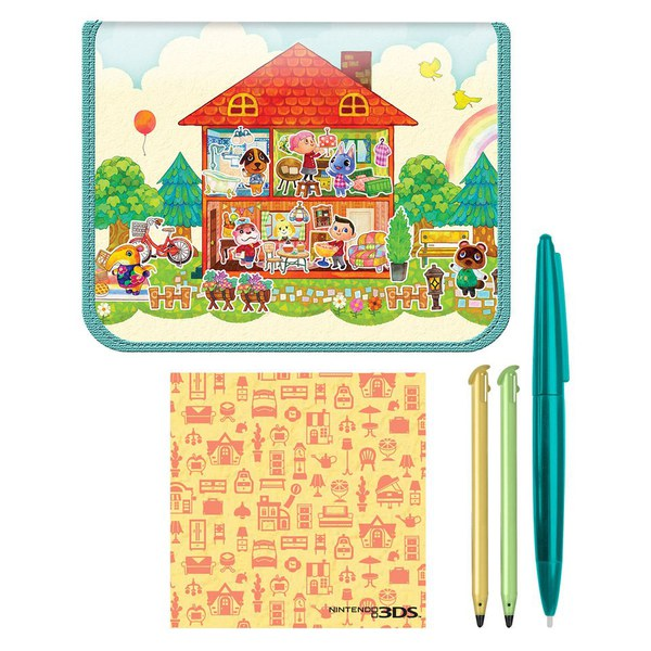 Animal crossing happy home designer kit for nintendo 3ds - Happy home designer amiibo figures ...