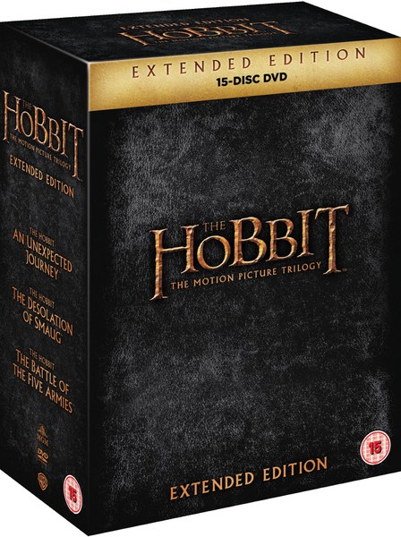 Zavvi Lord Of The Rings And Hobbit Boxset