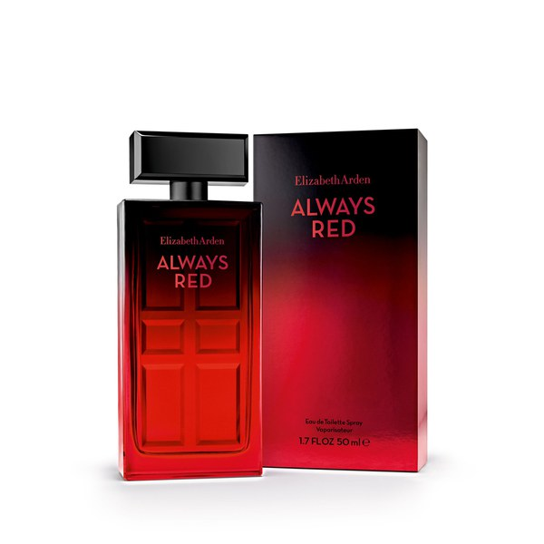 Eau de toilette Always Red d'Elizabeth Arden (50ml)