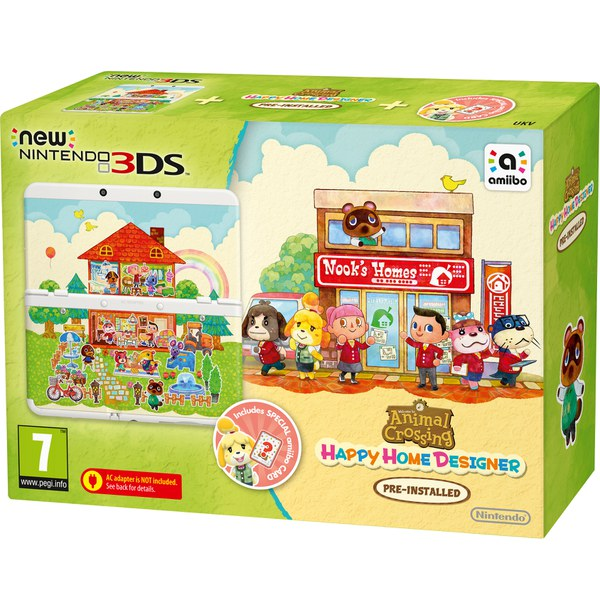 New Nintendo 3DS - Includes Animal Crossing: Happy Home Designer ...