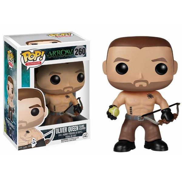 Arrow Island Scarred Oliver Queen Exclusive Pop! Vinyl Figure