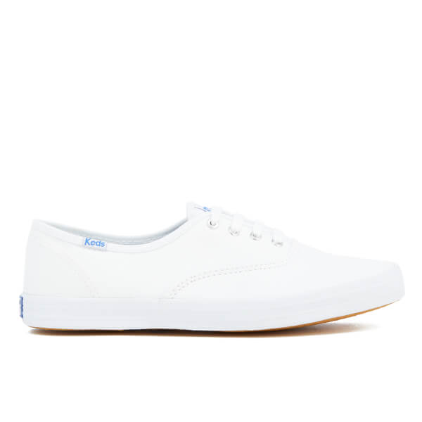bfd4cf21370 Keds Women s Champion CVO Core Canvas Trainers - White  Image 1