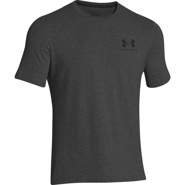 Under Armour Men's Sportstyle Left Chest Logo T-Shirt - Dark Grey