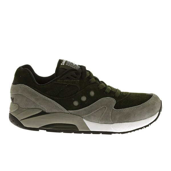 Saucony Men's G9 Control Trainers - Green/Grey: Image 1