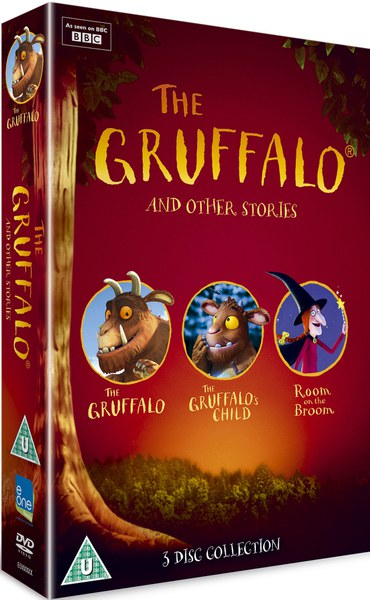 The Gruffalo And Other Stories Dvd Zavvi
