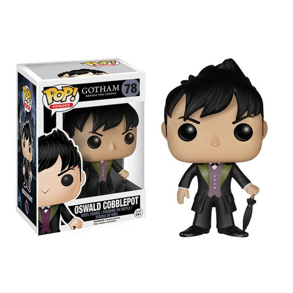 dc comics gotham oswald cobblepot funko pop figur merchandise. Black Bedroom Furniture Sets. Home Design Ideas