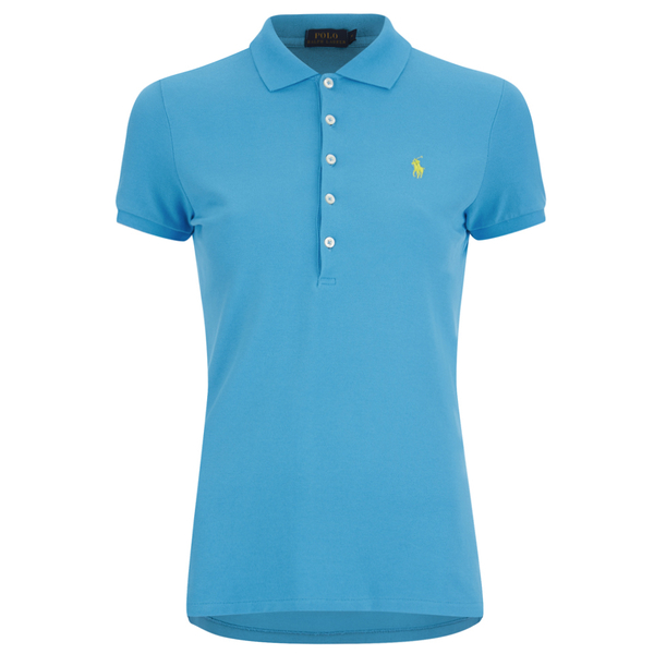 Polo Ralph Lauren Women's Julie Polo Shirt - Cove Blue