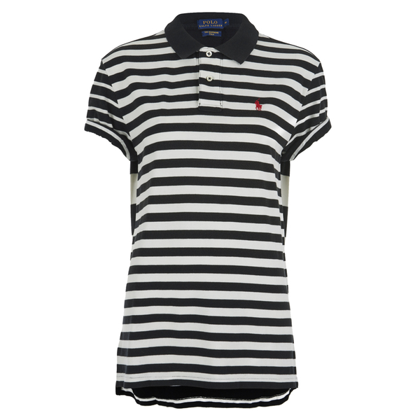 Polo Ralph Lauren Women's Boyfriend Polo Shirt - Black/Nevis
