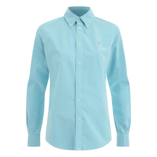 Polo Ralph Lauren Women's Harper Shirt - North Shore Blue