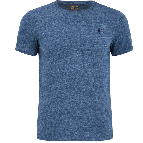 Polo Ralph Lauren Men's Short Sleeve Crew Neck T-Shirt - River Blue: Image
