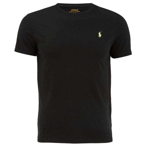 Polo Ralph Lauren Men's Custom Fit Crew Neck T-Shirt - Polo Black