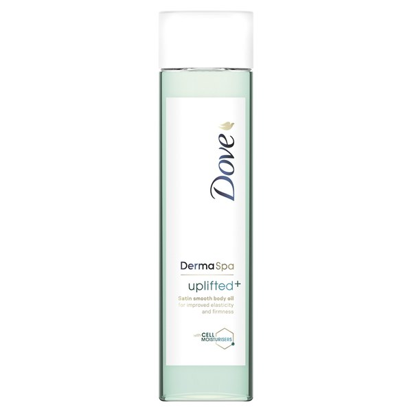 Huile pour le corps Uplifted + Satin Smooth DermaSpa de Dove  (150ml)