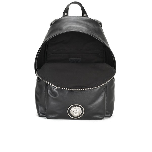 Versus Versace Men s Lion Head Backpack - Black White  Image 4 0fc4384dbc803