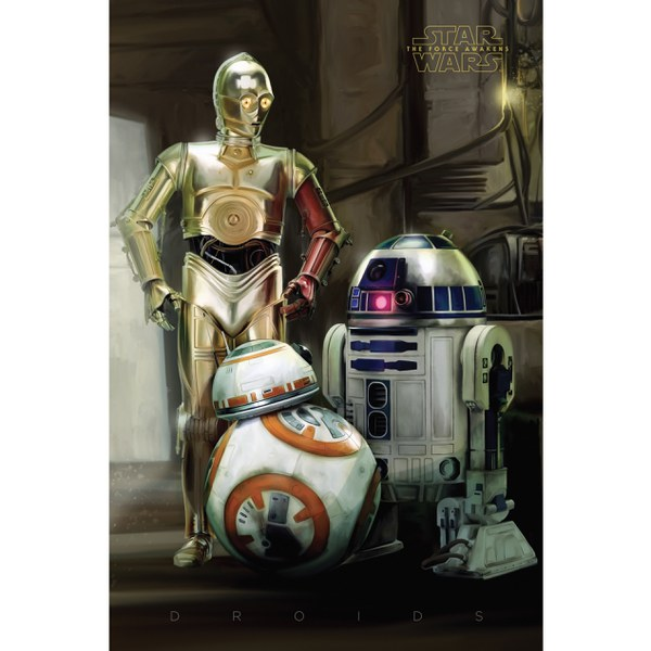 Star Wars: The Force Awakens Droids - 24 x 36 Inches Maxi Poster