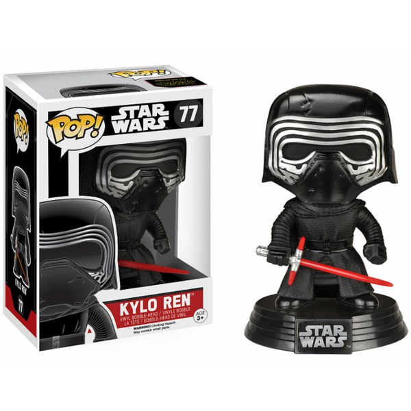 Star Wars: The Force Awakens Episode VII Kylo Ren and Helmet Limited Edition Pop! Vinyl Figure