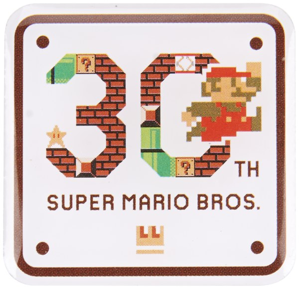 Super Mario Bros. 30th Anniversary Pin Badge