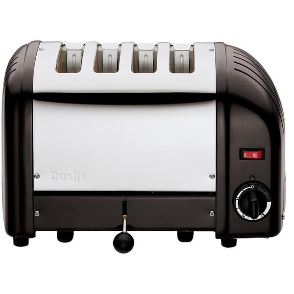 Dualit 40344 Classic Vario 4 Slot Toaster - Black