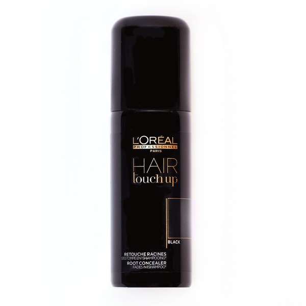 L'Oreal Professionnel Hair Touch Up - Black (75 ml)