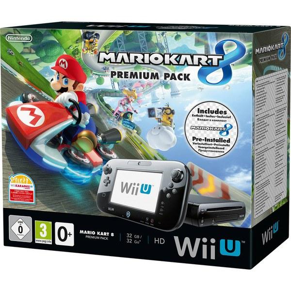 Mario Kart 8 (Pre-installed) Wii U Premium Pack