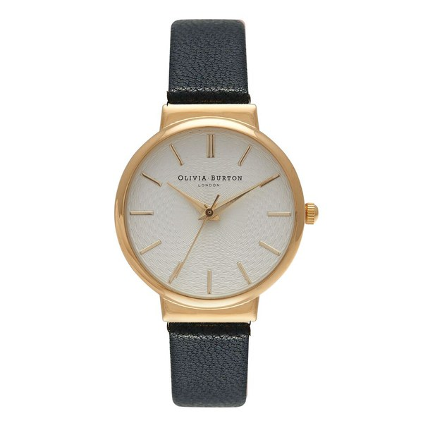 Olivia Burton Women's The Hackney Watch - Black/Gold