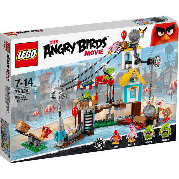 LEGO Angry Birds: Pig City Teardown (75824)